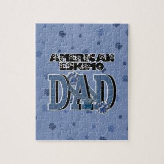 American Eskimo DAD Puzzle