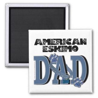 American Eskimo DAD Refrigerator Magnet