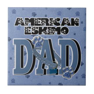 American Eskimo DAD Tiles