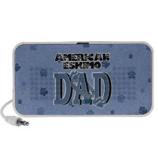 American Eskimo DAD Travelling Speaker