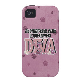 American Eskimo DIVA Case-Mate iPhone 4 Covers
