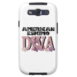 American Eskimo DIVA Galaxy S3 Case