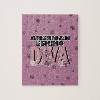 American Eskimo DIVA Jigsaw Puzzle