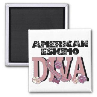 American Eskimo DIVA Magnet
