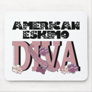 American Eskimo DIVA Mouse Mats