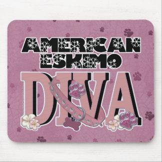 American Eskimo DIVA Mouse Pad