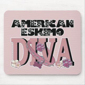 American Eskimo DIVA Mousepads