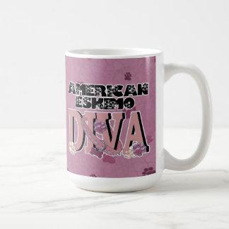 American Eskimo DIVA Mug