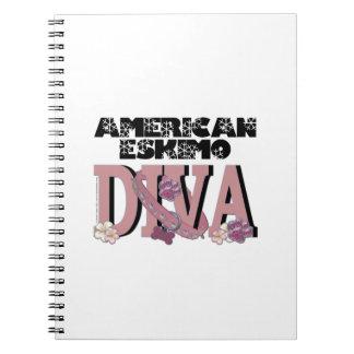 American Eskimo DIVA Note Books