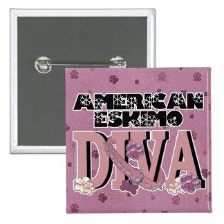 American Eskimo DIVA Pin