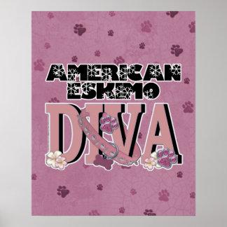 American Eskimo DIVA Poster