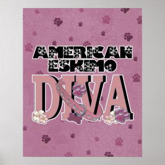 American Eskimo DIVA Posters