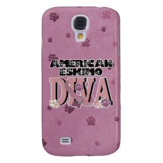 American Eskimo DIVA Samsung Galaxy S4 Cases