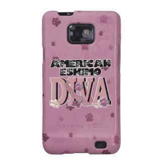 American Eskimo DIVA Samsung Galaxy S Cases