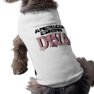 American Eskimo DIVA Sleeveless Dog Shirt
