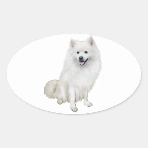 American Eskimo Dog (A) Stickers
