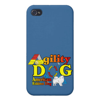American Eskimo Dog Agility Covers For iPhone 4