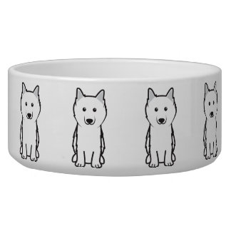 American Eskimo Dog Cartoon