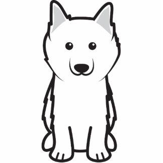 American Eskimo Dog Cartoon Photo Cutout