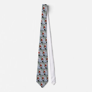 American Eskimo Dog Christmas Tie
