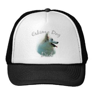 American Eskimo Dog Dad 2 Mesh Hat