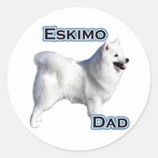 American Eskimo Dog Dad 4 - Sticker