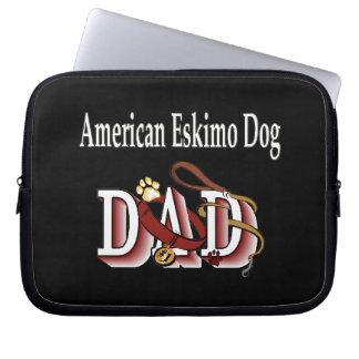 American Eskimo Dog DAD Computer Sleeve