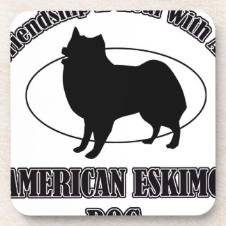 AMERICAN ESKIMO DOG DOG DESIGNS COASTERS