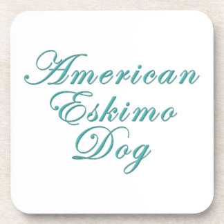 American Eskimo Dog Drink Coaster