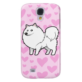 American Eskimo Dog / German Spitz Love Galaxy S4 Case
