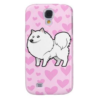 American Eskimo Dog / German Spitz Love Galaxy S4 Case