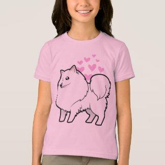 American Eskimo Dog / German Spitz Love T-Shirt