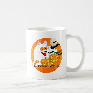 American Eskimo Dog Halloween Coffee Mug