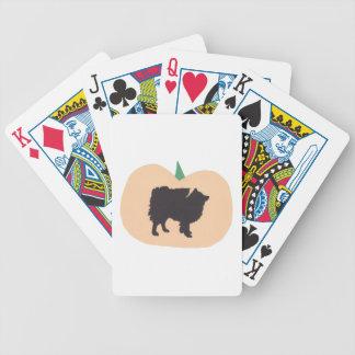 American Eskimo Dog Halloween Playing Cards
