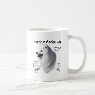 American Eskimo Dog History Design Mug