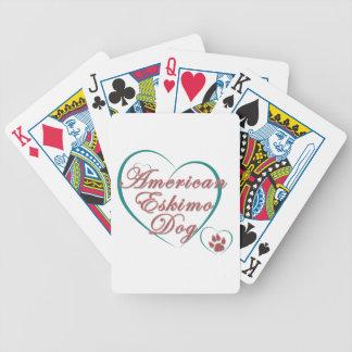 American Eskimo Dog Love Card Deck