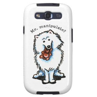 American Eskimo Dog Manipulate Galaxy S3 Cover