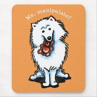 American Eskimo Dog Manipulate Mousepad