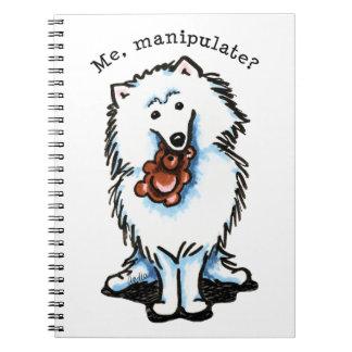 American Eskimo Dog Manipulate Spiral Note Books