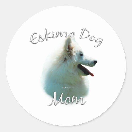 American Eskimo Dog Mom 2 Sticker