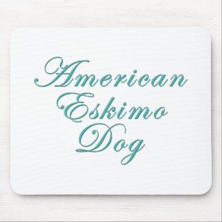 American Eskimo Dog Mousepads