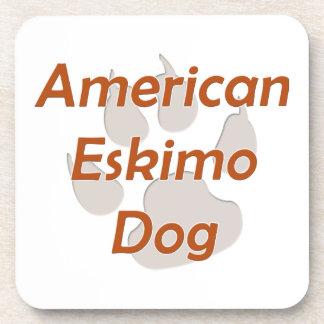 American Eskimo Dog Paw Coaster
