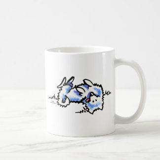 American Eskimo Dog Play Dead Coffee Mug