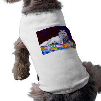 American Eskimo Dog Sweater Sleeveless Dog Shirt