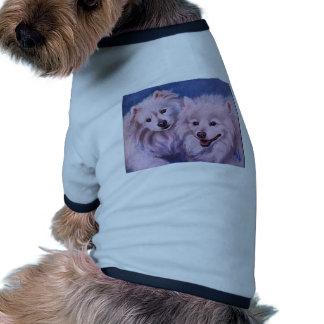 American Eskimo Dogs Pet Shirt