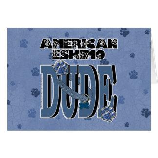 American Eskimo DUDE Card