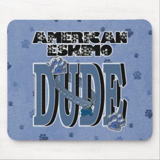 American Eskimo DUDE Mouse Pad