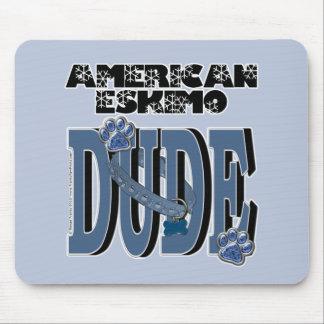 American Eskimo DUDE Mousepad
