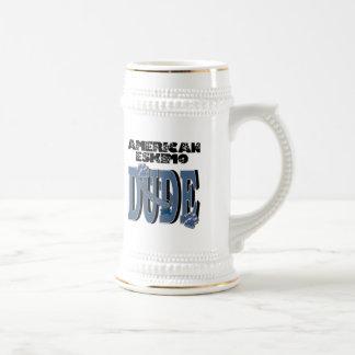 American Eskimo DUDE Mugs
