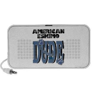 American Eskimo DUDE Notebook Speaker